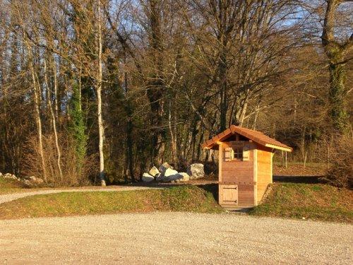Un WC sec au Lac Vert à Minzier