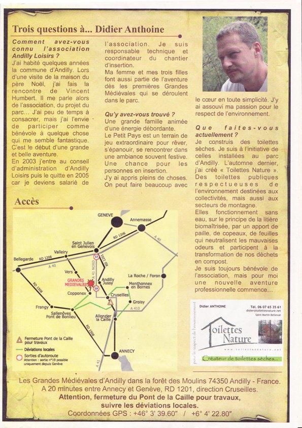 Les Grandes Fêtes Médievales d'Andilly 2009