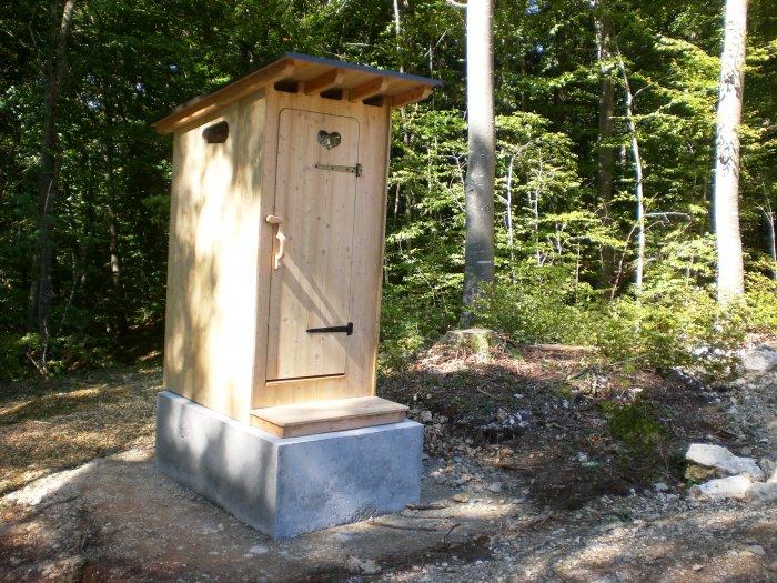 Une toilette Estive à Cruseilles en Haute Savoie…