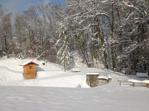 Mes toilettes sous la neige