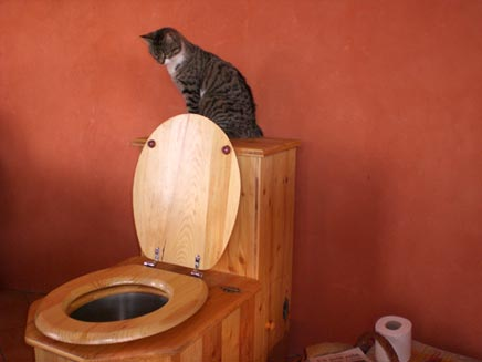 """La Tilette : Des toilettes sans """"o"""" ou sans eau pour la maison"""