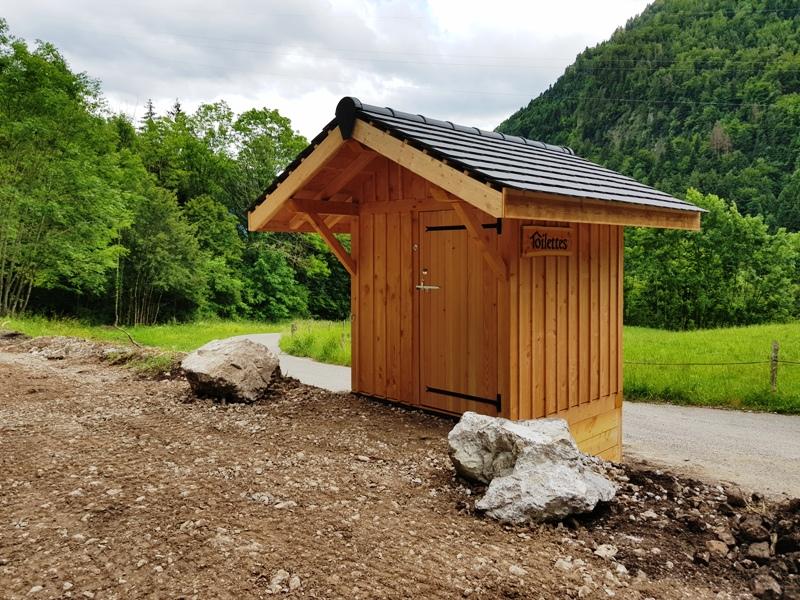 Encore une Toilette Nature pour un site archéologique !